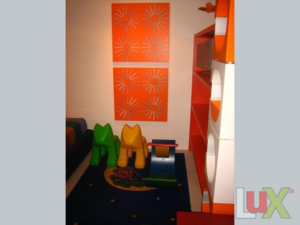 Porta cd a parete arancio - Porta cd da parete ...