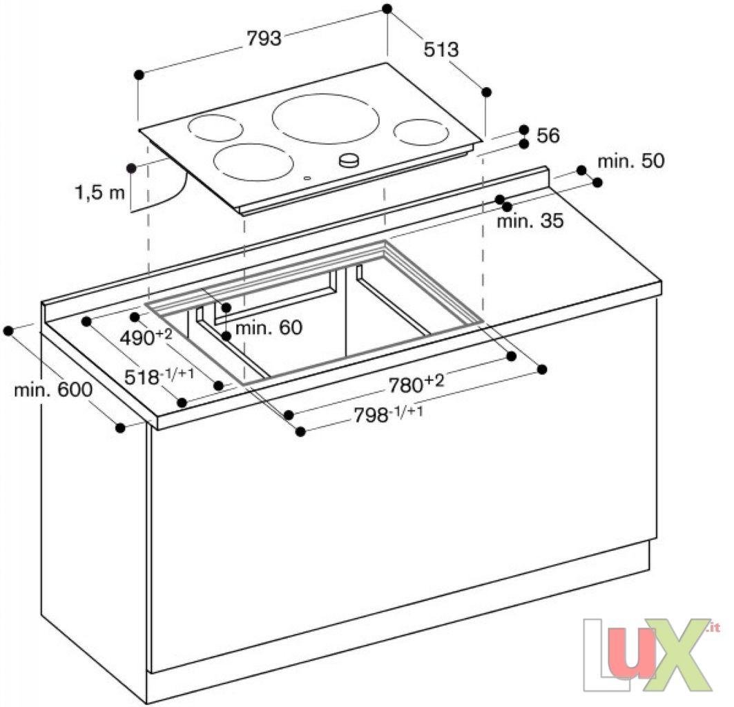 piano cottura modello piano cottura induzione ci 481 nero. Black Bedroom Furniture Sets. Home Design Ideas
