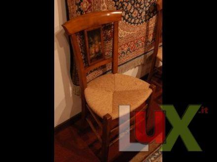 Sedie Francesi Provenzali : Coppia di due sedie stile provenzale francese pati.. noce