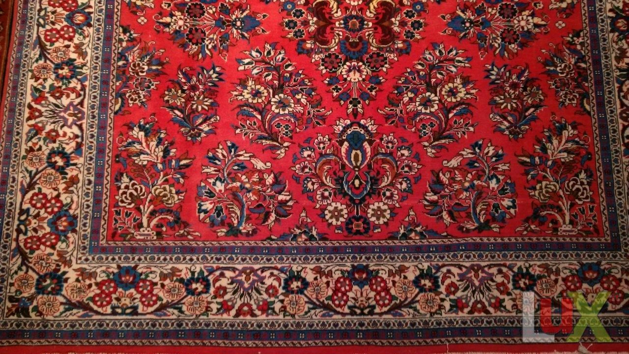 Tappeto persiano modello saruk - Valore tappeto persiano ...